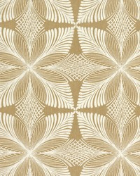 Roulettes Wallpaper Gold by