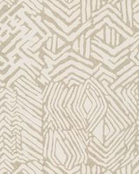 Tribal Print Wallpaper Tan by
