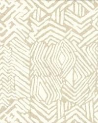 Tribal Print Wallpaper Neutral by