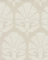 Ottoman Fans Wallpaper Light Grey by