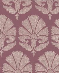 Ottoman Fans Wallpaper Dark Red by