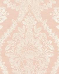 Heritage Damask Wallpaper Pink by