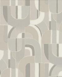 Sculpture Garden Wallpaper Grey by