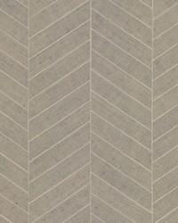 Atelier Herringbone Wallpaper Poff White by