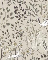 Aspen Wallpaper Off White by