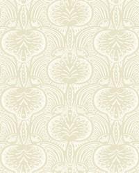 Lotus Palm Wallpaper Beige by