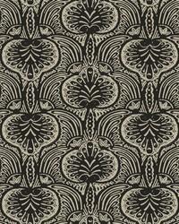 Lotus Palm Wallpaper Off White Black by