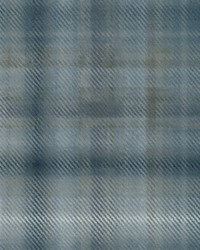 Sterling Plaid Wallpaper Blue by