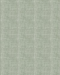 Shirting Plaid Wallpaper Green by