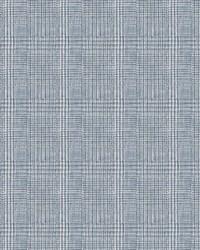 Shirting Plaid Wallpaper Blue by