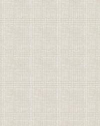 Shirting Plaid Wallpaper Off White by
