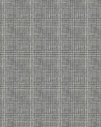 Shirting Plaid Wallpaper Black by
