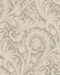 Archive Paisley Wallpaper Grey by