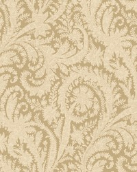 Archive Paisley Wallpaper Beige by