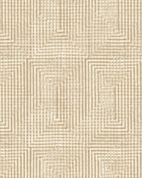 Right Angle Weave Wallpaper Beige by