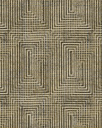 Right Angle Weave Wallpaper Brown by