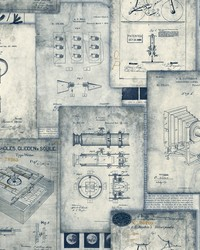 Patent Pending Wallpaper Blue by