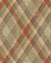 Diamond Plaid Wallpaper Orange by