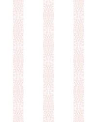 Ballerina Stripe Wallpaper Pink by