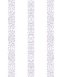 Ballerina Stripe Wallpaper Pearl Purple by