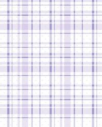 Polka Dot Plaid Wallpaper Purple Silver by