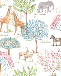 On The Savanna Wallpaper Primary by