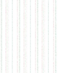 Dotty Stripe Wallpaper Pastel by