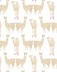 Alpaca Pack Wallpaper Camel by