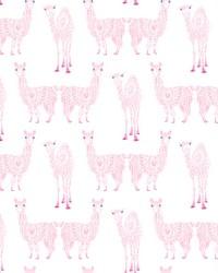 Alpaca Pack Wallpaper Pink by