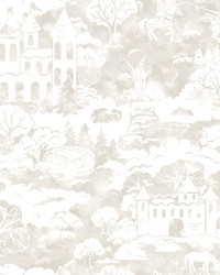 Quiet Kingdom Wallpaper Taupe by