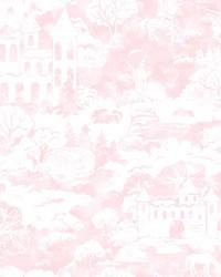 Quiet Kingdom Wallpaper Pink by