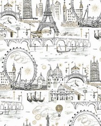 Novelty Euro Scenic Wallpaper Metallics by