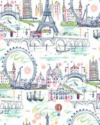 Novelty Euro Scenic Wallpaper Girly by