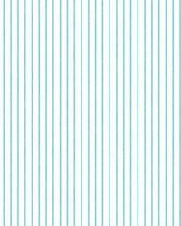 Ticking Stripe Wallpaper Aqua by