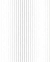 Ticking Stripe Wallpaper Grey by