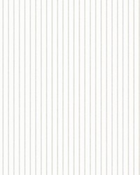 Ticking Stripe Wallpaper Neutral by