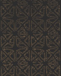 Empire Diamond Wallpaper Black Gold by