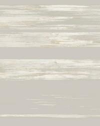 Horizontal Dry Brush Wallpaper Grey by