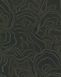 Geodes Wallpaper Black by