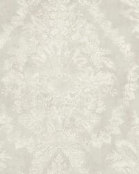 Charleston Damask Wallpaper Cream by