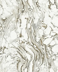 Polished Marble Wallpaper Black White by