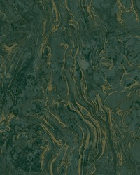 Polished Marble Wallpaper Green by
