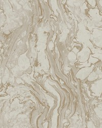 Polished Marble Wallpaper Taupe by