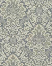 Secret Garden Wallpaper Blues Beiges by