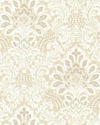 Secret Garden Wallpaper Beiges Yellows by