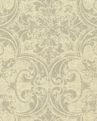Regency Wallpaper Beiges Blacks by