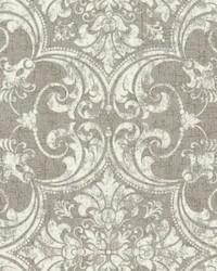 Regency Wallpaper Metallics White Off Whites by
