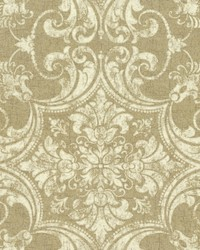 Regency Wallpaper Metallics Beiges by