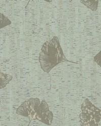 Gingko Wallpaper Greens by