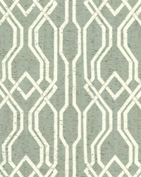 Balanced Trellis Wallpaper Greens White Off Whites by